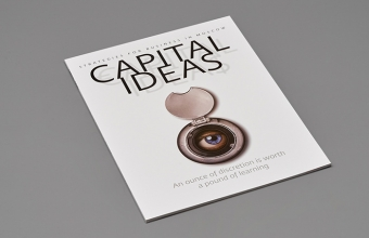 Брошюра CAPITAL IDEAS, Формат 215х290 мм, блок 96